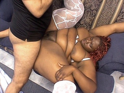 Huge Black Babe Banged